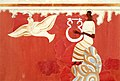 Lyre Player and Bird Fresco from Pylos Throne Room.jpg