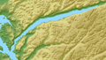 Lysefjorden relief location map.png