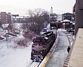 MBTA Locomotive 1116 Pulls into Salem Station.jpg