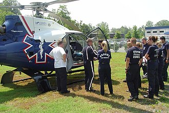Emergency medical services in the United States - Image: MCI Drill 2008 003