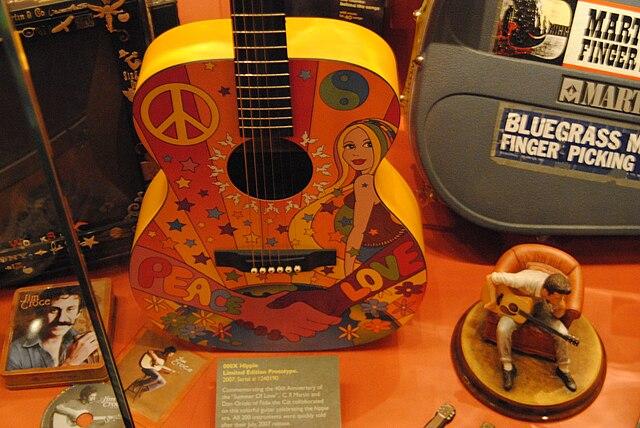 Martin 000X Hippie Ltd. Edition Prototype (2007) Commemorating 40th Anniversary of