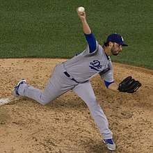 Picture of Los Angeles Dodgers pitcher Mike Bolsinger
