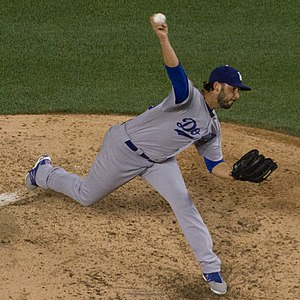 Mike Bolsinger - Bolsinger with the Los Angeles Dodgers