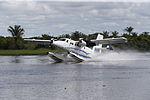 MINISTRO VALAKIVI ENTREGÓ MODERNA FLOTA DE 12 AERONAVES CANADIENSES TWIN OTTER DHC-6 SERIE 400 A LA FUERZA AÉREA DEL PERÚ (18969891943).jpg