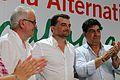 Maíllo, Lara, Valderas XIX Asamblea IU Andalucía.jpg