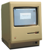 תמונת מחשב המקינטוש הראשון