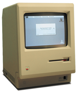 Macintosh 128K Home computer developed and marketed by Apple Inc.