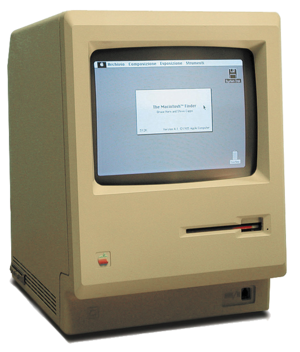 Graphical user interface - Macintosh 128K, the first Macintosh (1984)