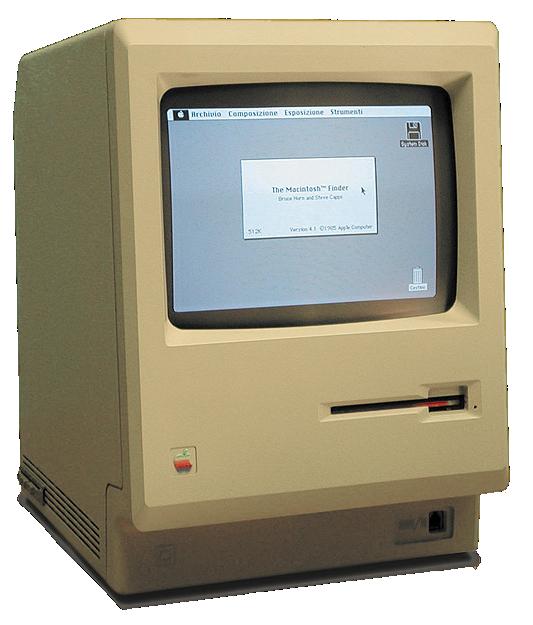 Macintosh 128k transparency