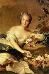 Madame Henriette en Flore - Jean Marc Nattier