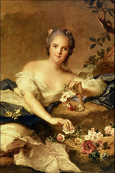 Jean-Marc Nattier: Henriette of France as Flora