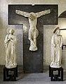 Maestro di sant'anastasia, cristo crocifisso con la madonna e san giovanni dolenti, dai ss. giacomo e lazzaro alla tomba, vr, 1300-50 ca. 01.jpg