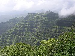 View of Mahabaleshwar Hills