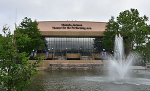 Mahalia Jackson Theater of the Performing Arts - Image: Mahalia Jackson Theater for the Performing Arts in New Orleans
