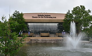 Mahalia Jackson Theater of the Performing Arts theater in in New Orleans, Louisiana