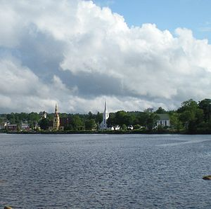 English: Mahone Bay, Nova Scotia