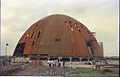 Main Auditorium Under Construction - Convention Centre Complex - Science City - Calcutta 1995-06-09 116.JPG