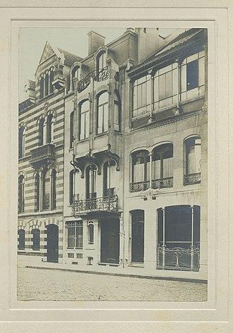 Horta Museum - Image: Maison Horta (23 25, rue Américaine, 1060, Brussels)