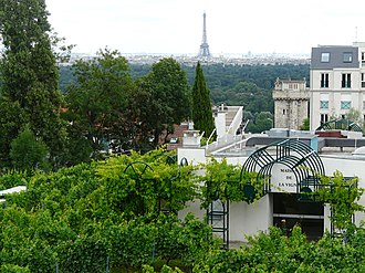 Suresnes - View of Paris from Suresnes