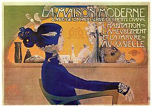 Manuel Orazi - Advertisement for La Maison Moderne 1902
