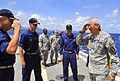 Maj. Gen. Chang visits USS Cleveland 110707-N-KB563-049.jpg