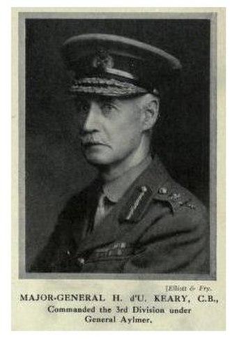Battle of Dujaila - Major-General Henry D'Urban Keary, GOC 3rd (Lahore) Division