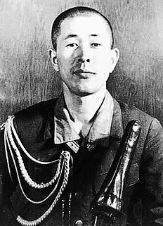 Japanese military officer and conspirator