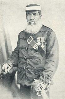 Ropata Wahawaha Māori chief and major