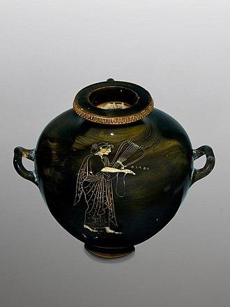 Kalpis - Kalpis, Sappho Painter, ca. 510 BC, National Museum, Warsaw