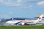 Malaysia Airlines Airbus A330-300 9M-MTL NRT (16067766897).jpg