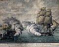 Maleri av Slaget ved Bjørøen (Alvøen) 16. mai 1808.jpg