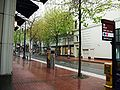 Mall SW 5th MAX station - Portland, Oregon.JPG