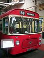 Manchester Corporation bus 74 (BND 874C), Museum of Transport in Manchester, 30 June 2007.jpg