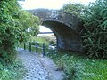 Manchester bolton and bury canal leaving bury small bridge.jpg
