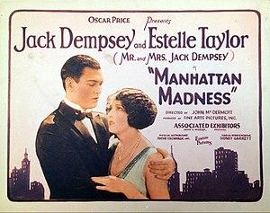 Manhattan Madness (1925 film) - Lobby card