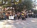 Manifestació per la llibertat dels presos polítics a Riudoms 22-2-2020 01.jpg