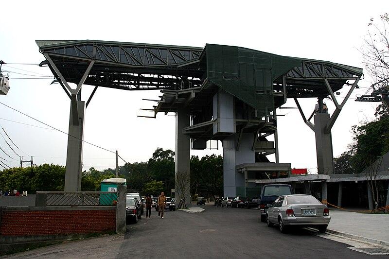 Zhinan Temple Station, Maokong Gondola, Taipei