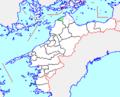 Map.Kikuma-Town.Ehime.PNG