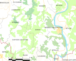 Map commune FR insee code 19260.png