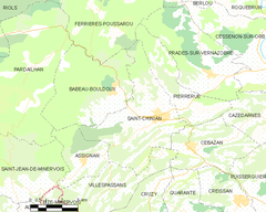 Map commune FR insee code 34245.png