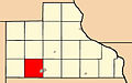 Map highlighting South Fork Township, Jackson County, Iowa.jpg