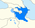 Map of Azerbaijani speakers.png