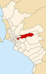 Map of Lima highlighting Ate.PNG
