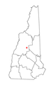Map of NH dot on Plymouth.PNG