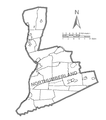 Map of Northumberland County, Pennsylvania No Text.png