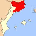 Mapa distribució Salamandra Països Catalans.png