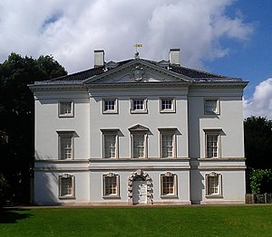 Marble Hill House - Marble Hill House, South (river) front