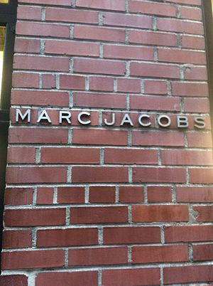 Marc Jacobs - Marc Jacobs storefront in New York City