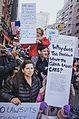 March against Trump, New York City (30833892792).jpg