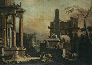 A Capriccio of Classical Rome